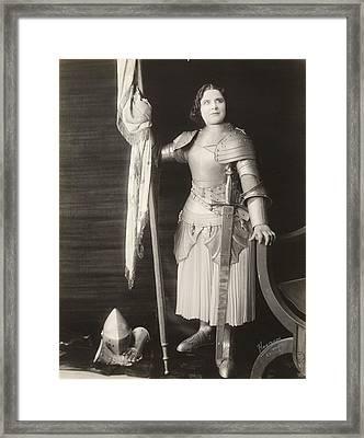 Geraldine Farrar (1882-1967) Framed Print by Granger