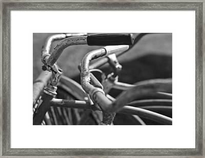Get A Grip Framed Print by Gordon Dean II