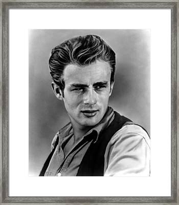 Giant, James Dean, 1956 Framed Print