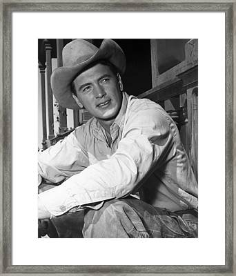 Giant, Rock Hudson, 1956 Framed Print