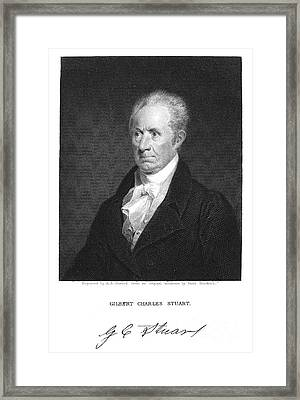 Gilbert Stuart (1755-1828) Framed Print by Granger