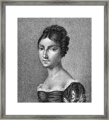 Giuditta Pasta (1798-1865) Framed Print