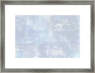 Glacial Framed Print by Christopher Gaston