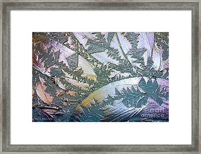 Glass Designs Framed Print