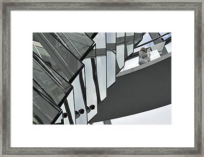 Glass Dome Of Reichstag Framed Print by Igor Sinitsyn