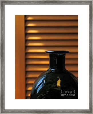 Glass Framed Print by Odon Czintos