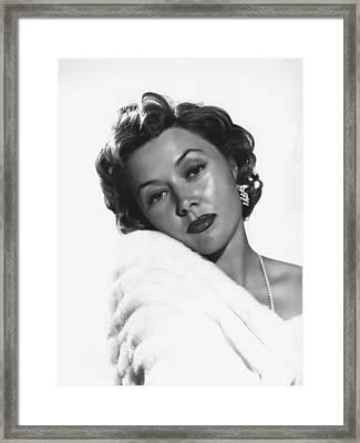 Gloria Grahame, 1953 Framed Print by Everett