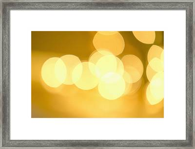 Glowing Background, Studio Shot Framed Print by Tetra Images