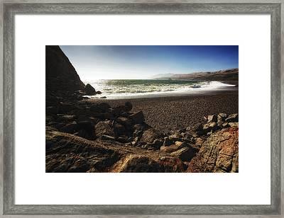 Goat Rock Beach Framed Print