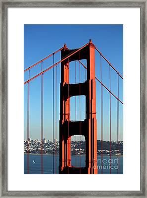 Golden Gate  Framed Print by Kim Pascu