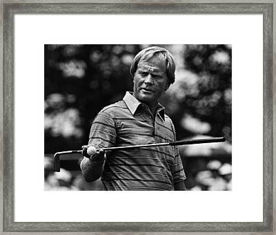 Golf Pro Jack Nicklaus, August, 1984 Framed Print