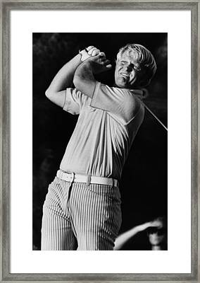 Golf Pro Jack Nicklaus, C. 1970s Framed Print
