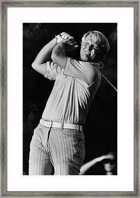 Golf Pro Jack Nicklaus, C. 1970s Framed Print by Everett