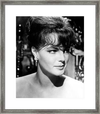Good Neighbor Sam, Romy Schneider, 1964 Framed Print