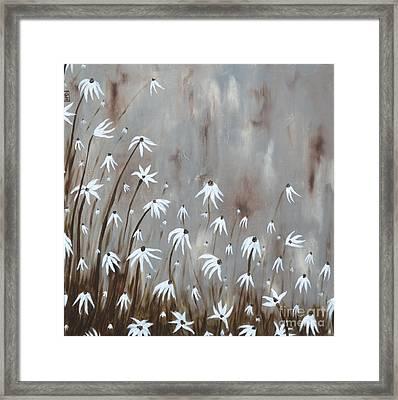 Gossamer Field Framed Print by Holly Donohoe