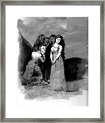 Goya Copy Framed Print