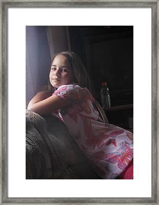 Grace Framed Print by Thelma Hendrix
