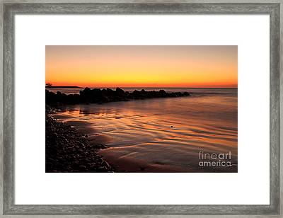 Gran Canaria Sunrise  Framed Print by Pete Reynolds