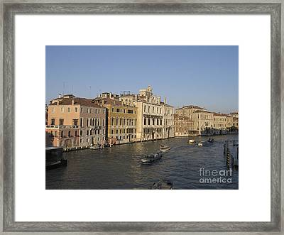 Grand Canal. Venice Framed Print