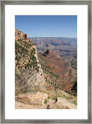 Grand Canyon National Park Arizona Usa Framed Print by Audrey Campion