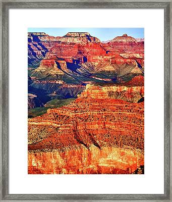 Framed Print featuring the photograph Grand Canyon National Park by James Bethanis