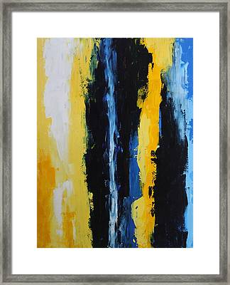 Gravity Framed Print by Eric Chapman