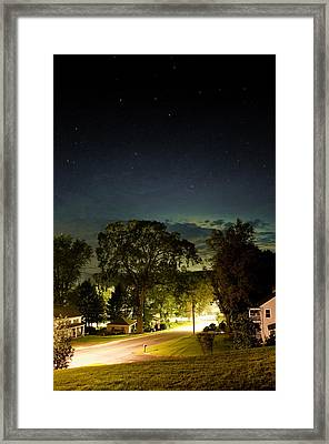 Great American Elm Framed Print by Joshua Volff