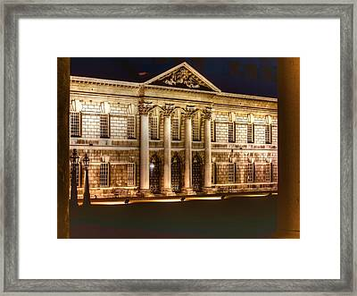 Greenwich Royal Naval College Hdr Framed Print by David French