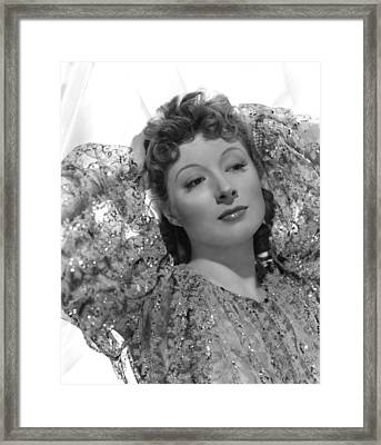 Greer Garson, 1939, Photo By Clarence Framed Print by Everett