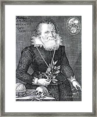 Gregor Horstius, German Physician Framed Print by Science Source
