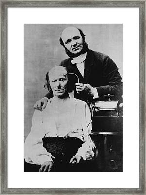 Guillaume Duchenne 1806-1875, French Framed Print