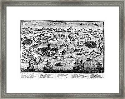 Gulf Coast, C1720 Framed Print by Granger