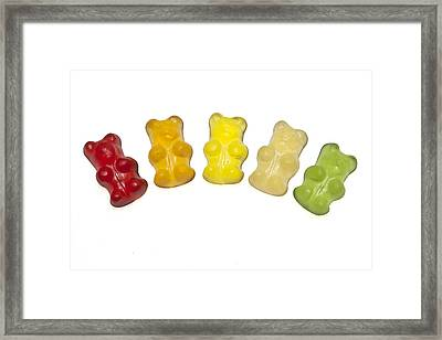Gummi Bear Framed Print by Joana Kruse
