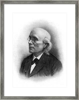 Gustav Theodor Fechner Framed Print by Science Source