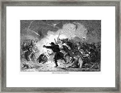 Guy Fawkes Day, 1853 Framed Print by Granger