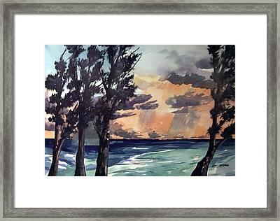 Haena Framed Print by Jon Shepodd