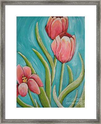 Haile Spring Framed Print by Holly Donohoe
