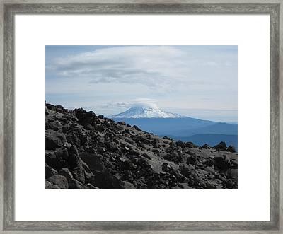 Halfway Point Framed Print by Mark Camp