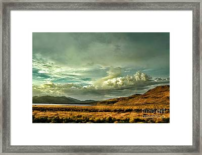 Hallelujah Junction Framed Print by HD Connelly