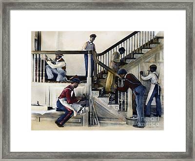 Hampton Institute, 1899 Framed Print by Granger