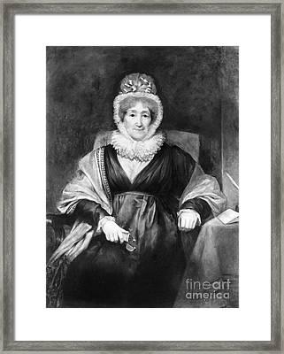 Hannah More (1745-1833) Framed Print
