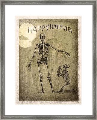 Happy Halloween Framed Print by Jeff Burgess