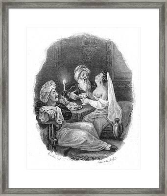 Harem Framed Print by Granger