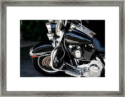 Harley Davidson  Framed Print by Karen Scovill