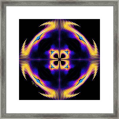 Harmonics Framed Print