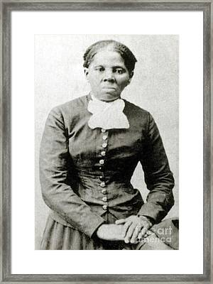 Harriet Tubman American Abolitionist Framed Print by Photo Researchers