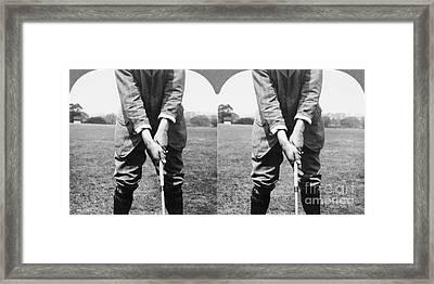 Harry Vardon (1870-1937) Framed Print
