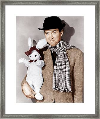 Harvey, James Stewart, 1950 Framed Print
