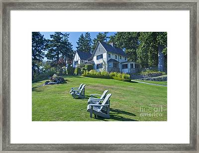 Hastings House Lawn Framed Print by Rob Tilley