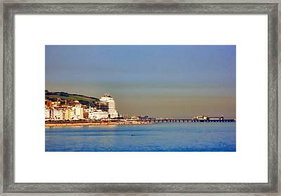 Hastings Framed Print by Sharon Lisa Clarke